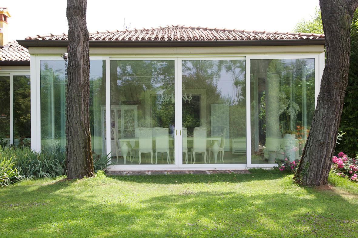 Verande Brescia - Veranda in pvc o alluminio Schuco Brescia
