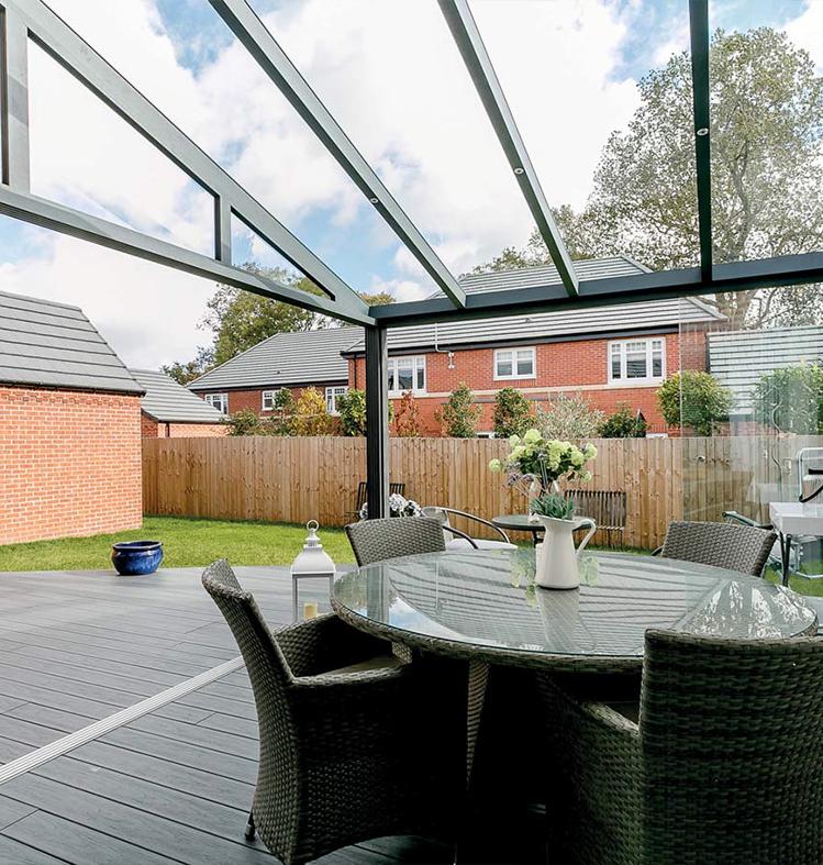 verande brescia veranda in pvc o alluminio schuco brescia. Black Bedroom Furniture Sets. Home Design Ideas